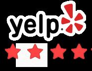 Yelp 4 Star Rating