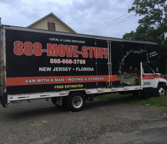 Moving Truck To Florida on Nov 9th