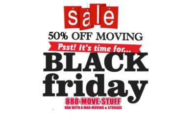 50% Off Moving Black Friday Specials