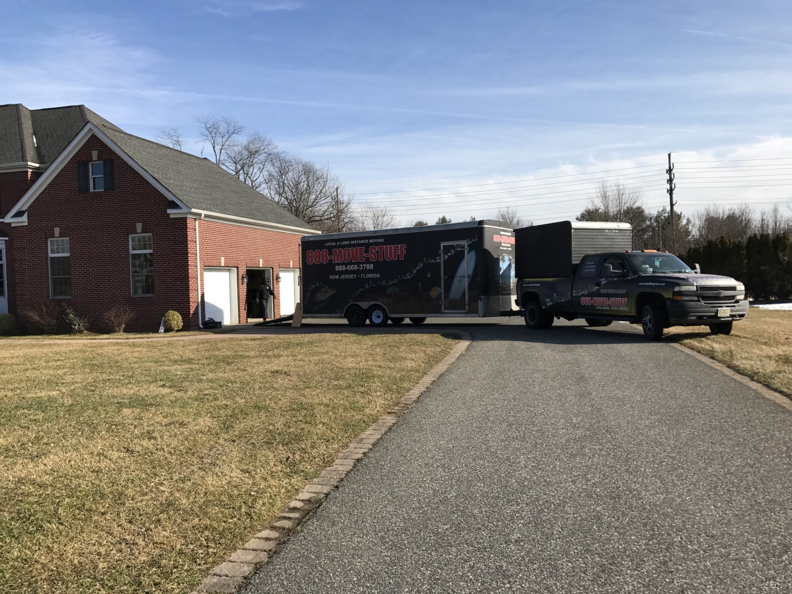 moving company trailer