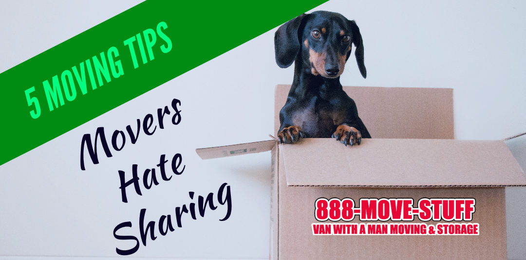 5 Moving Tips – Movers Hate Sharing